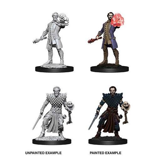 Dungeons & Dragons Nolzur's Marvelous Miniatures - Human Male Warlock