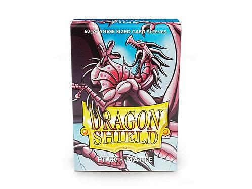 Dragon Shield Japanese Matte Pink 60ct