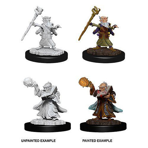 Dungeons & Dragons Nolzur's Marvelous Miniatures - Male Gnome Wizard