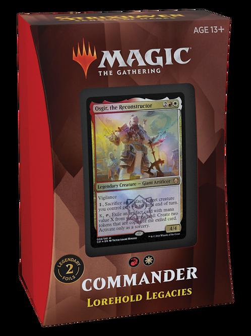 MTG Commander 2021 - Lorehold Legacies