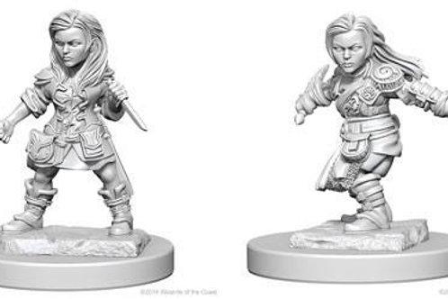Dungeons & Dragons Nolzur's Marvelous Miniatures - Halfling Female Rogue