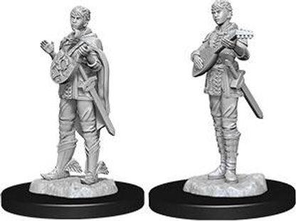 Dungeons & Dragons Nolzur's Marvelous Miniatures - Half-Elf Female Bard