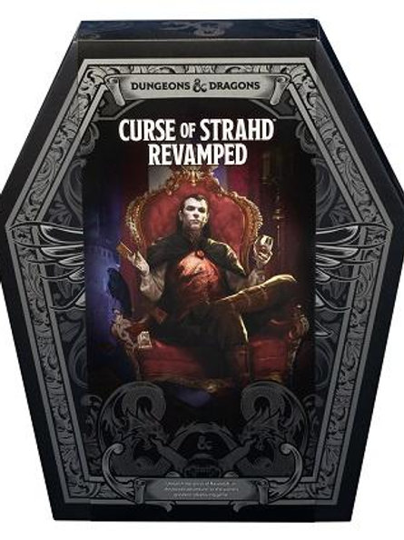 Dungeons & Dragons Curse of Strahd Revamped Box Set