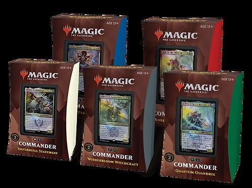 MTG Commander 2021 - Set of 5 Decks