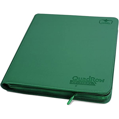 Ultimate Guard Quadrow Zipfolio Xenoskin - Green
