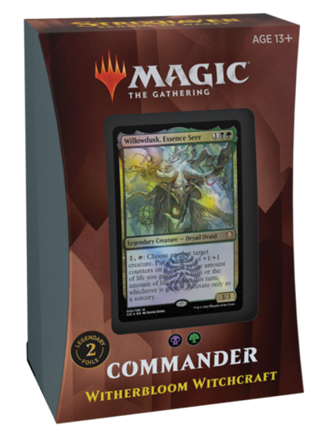 MTG Commander 2021 - Witherbloom Witchcraft