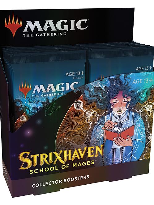 MTG Strixhaven Collector Booster Box + 2 MTG Promo Packs