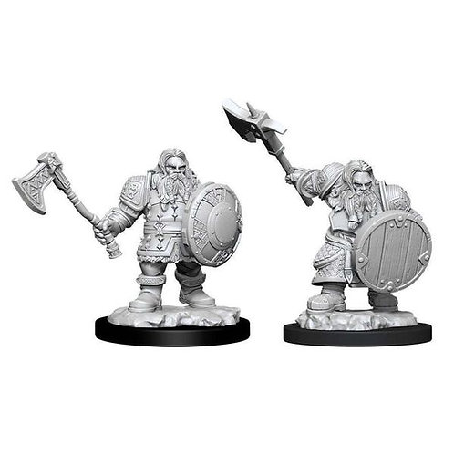 Dungeons & Dragons Nolzur's Marvelous Miniatures - Dwarf Male Fighter