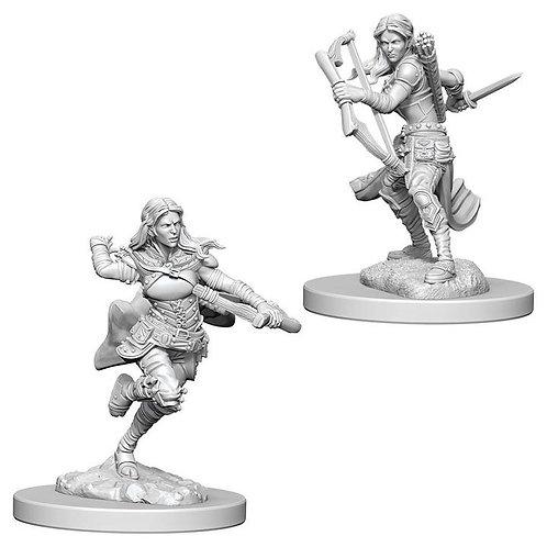 Dungeons & Dragons Nolzur's Marvelous Miniatures - Air Genasi Female Rogue