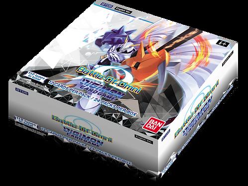 Digimon TCG Battle of Omni Booster Box (Pre-Order)