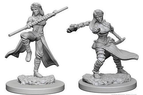 Dungeons & Dragons Nolzur's Marvelous Miniatures - Human Female Monk
