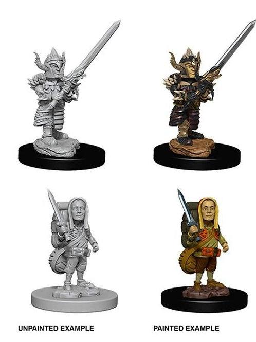 Dungeons & Dragons Nolzur's Marvelous Miniatures - Halfling Male Fighter