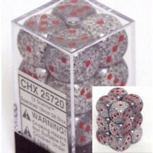 Chessex 12D6 Set Speckled Granite 25720