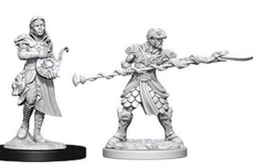Dungeons & Dragons Nolzur's Marvelous Miniatures - Yuan-Ti Pureblood Adventurers