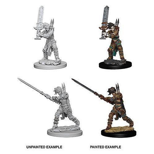 Pathfinder Deep Cuts - Human Female Barbarian