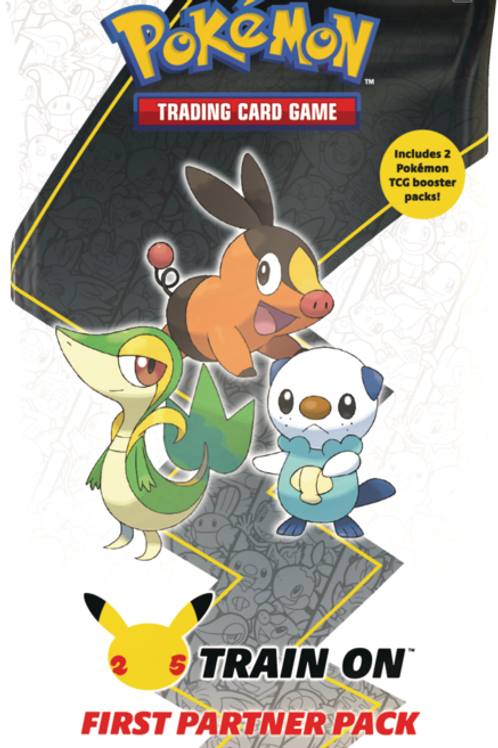 Pokemon First Parter Pack Unova
