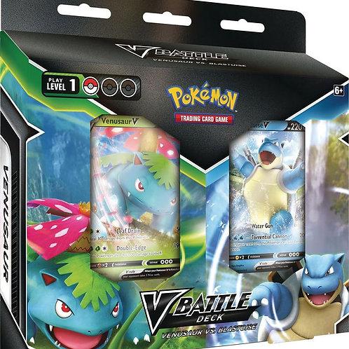 Pokemon V Battle Deck Venusaur Vs. Blastoise