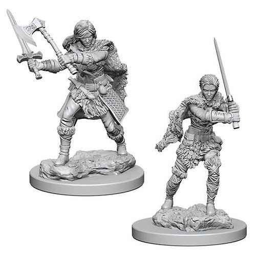 Dungeons & Dragons Nolzur's Marvelous Miniatures - Female Human Barbarian