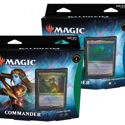 MTG Kaldheim Commander Decks (Set of 2)