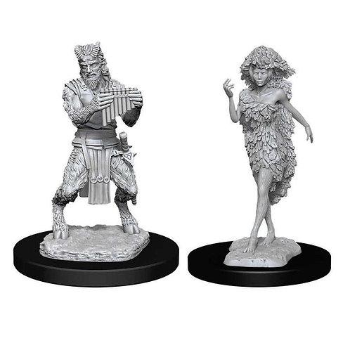 Dungeons & Dragons Nolzur's Marvelous Miniatures - Satyr & Dryad