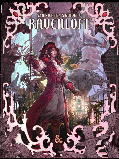 D&D 5E Van Richten's Guide to Ravenloft - Alt Cover