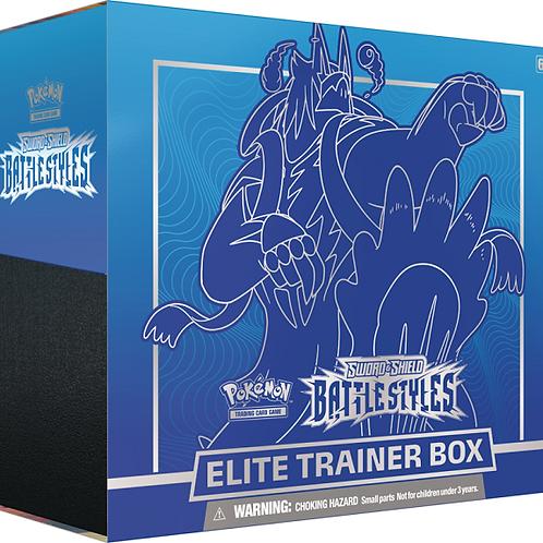 Pokemon Battle Styles Elite Trainer Box - Blue