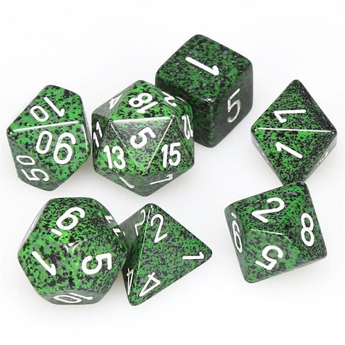 Chessex Polyhedral Set Speckled Recon 25325