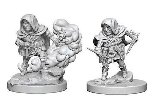Dungeons & Dragons Nolzur's Marvelous Miniatures - Halfling Male Rogue