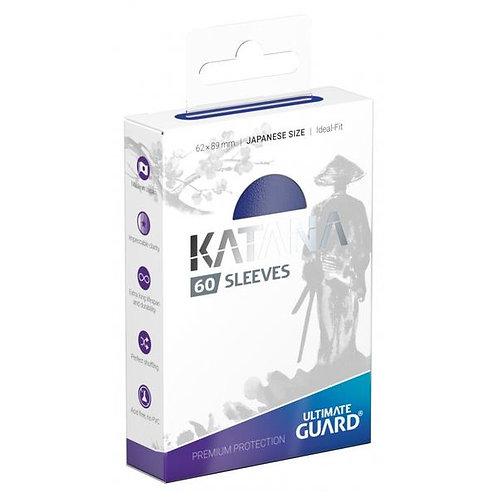 Ultimate Guard - Katana Sleeves - Japanese Size - 60ct Blue