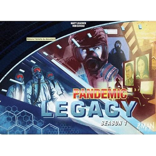 Pandemic Legacy Season 1 - Blue