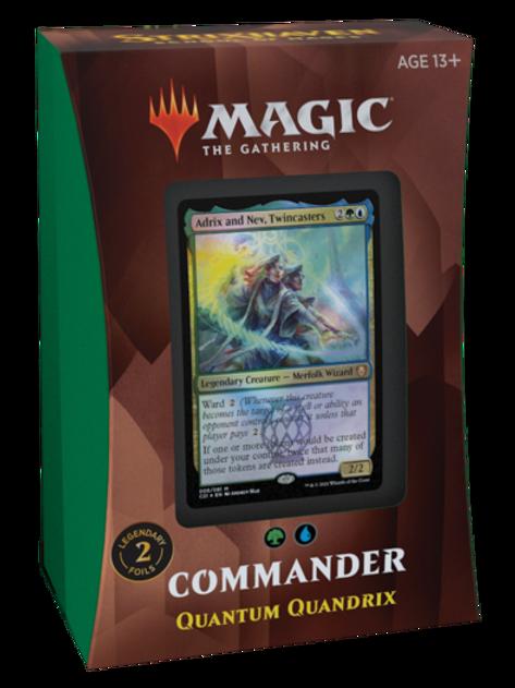 MTG Commander 2021 - Quantum Quandrix