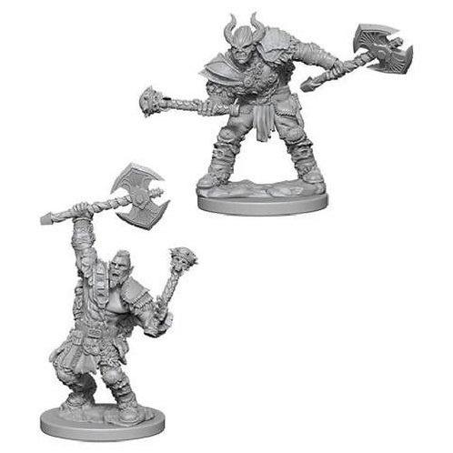 Pathfinder Deep Cuts - Half Orc Male Barbarian