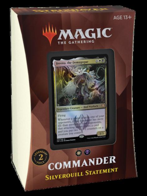 MTG Commander 2021 - Silverquill Statement