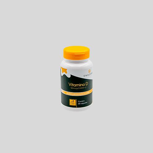 Vitamina D - 2 meses de tratamento - 1 frasco por R$ 2,21 por dia
