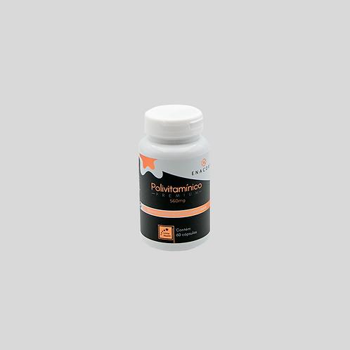 Polivitamínico - 2 meses de tratamento - 1 frasco - R$ 2,21 por dia