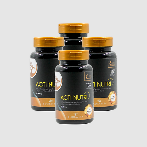 Acti Nutri - Kit 4 Meses de Tratamento
