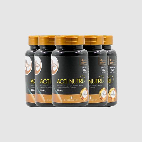 Acti Nutri - Kit 5 Meses de Tratamento