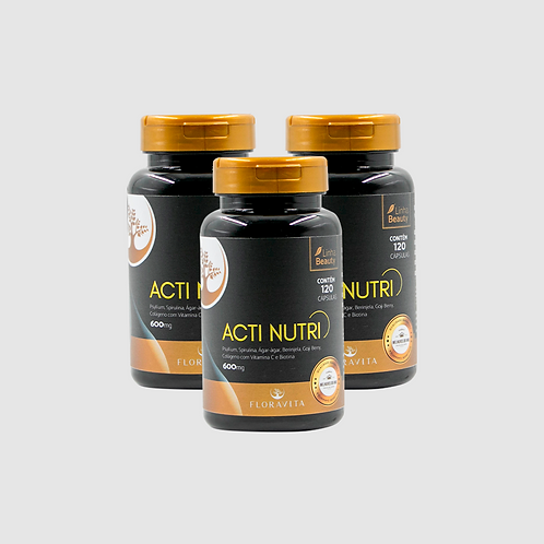 Acti Nutri - Kit 3 meses de tratamento