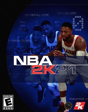 Damian L. NBA2K21 Alt. Cover [AlexisCee.