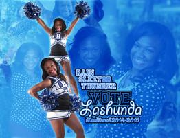 Lashunda F.'s Miss Murrah (MHS) Campaign