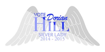 Dorian Hill Silver Lady (MHS) Logo