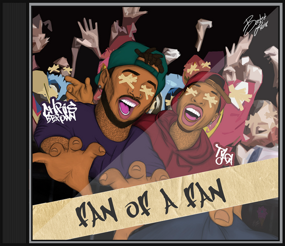 """Fan of a Fan: The Album"" Alt. Cover V1"