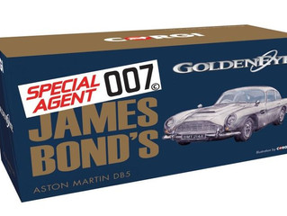 Corgi Releases New James Bond Aston Martin