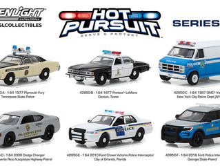 Great Variety with GreenLight Hot Pursuit Series 28