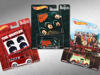 New 2017 Hot Wheels Pop Culture Beatles Set