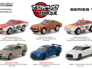 GreenLight Announces New Japanese Car Series!