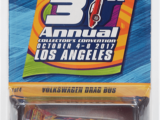 2017 Hot Wheels 31st Convention Collector Cars Announced