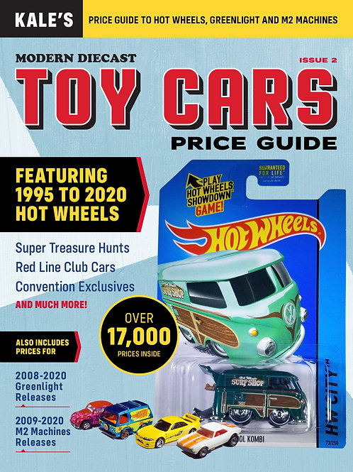 Kale's Modern Diecast TOY CARS Price Guide #2