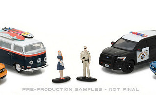New GreenLight Motor World Dioramas in December