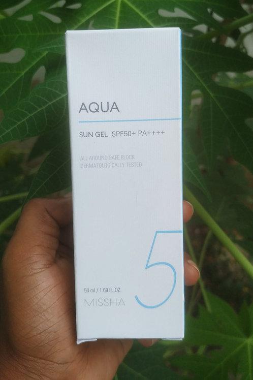 Missha aqua sungel spf50 PA++++ - 50ml